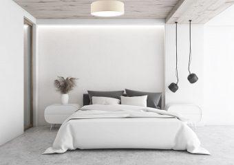 Plafon czy żyrandol – jak oświetlić sypialnię?